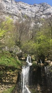 Trail Nivolet Revard 2017-cascade