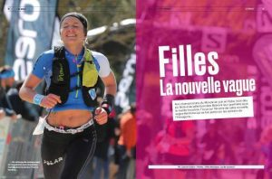 Amandine Ferrato - Trails Endurance Mag #122