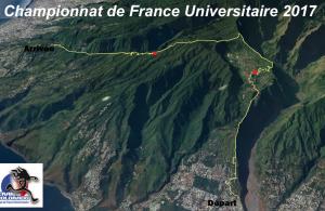 Championnat de France universitaire de Trail 2017