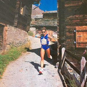 Championnat du monde à Zermatt 1991 - ISabelle Guillot