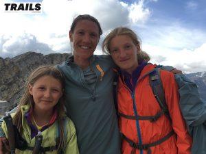 Christel Dewalle avec ses filles Alexia et Océane