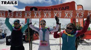 Dynastar X3 Courchevel 2017 - équipe féminine victorieuseDynastar X3 Courchevel 2017 - équipe féminine victorieuse