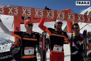 Dynastar X3 Courchevel 2017 - podiums hommes