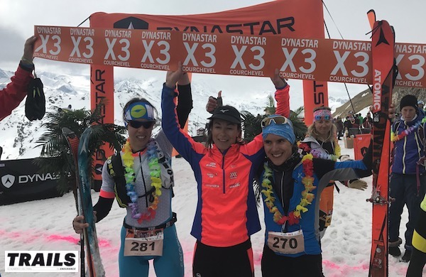 Dynastar X3 Courchevel 2017 - podiums femmes individuels