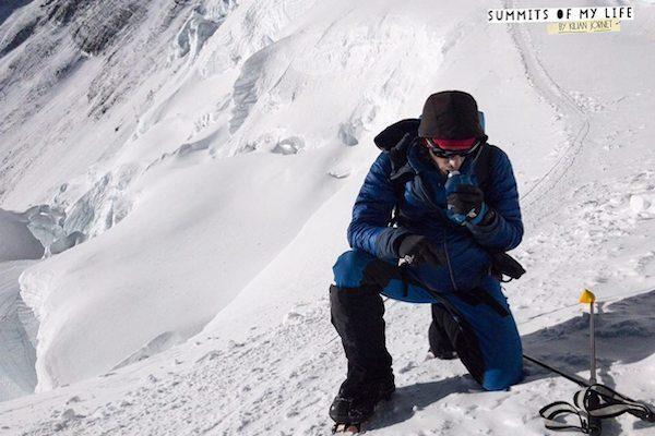Kilian Jornet vainqueur de l'Everest