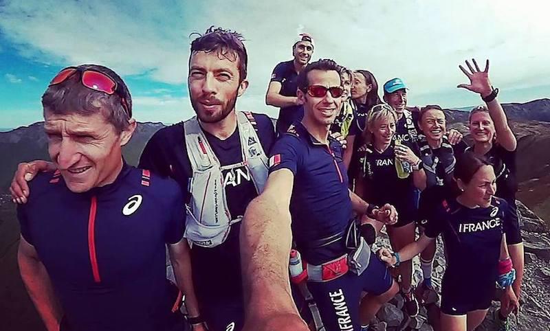 Cedric Fleureton - equipe de France de Trail 2017