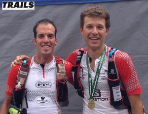 Michel Lanne et François D'haene lauréats du 80 km en 2013
