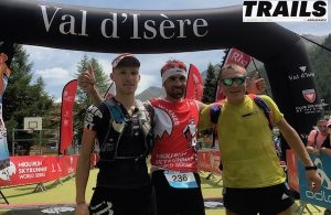 High Trail Vanoise 2017 - podium 2017 hommes