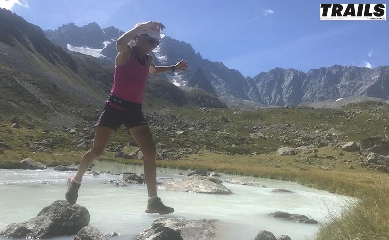 Caroline Chaverot vers le Lac d'Arsine - Fred Bousseau