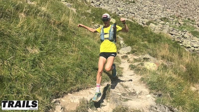 Jim Walmsley 2017 descente du Col du Tricot - Fred Bousseau