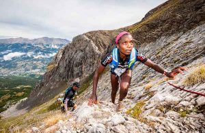 Parcours Elite du Trail Ubaye Salomon 2017. Juliet Champion