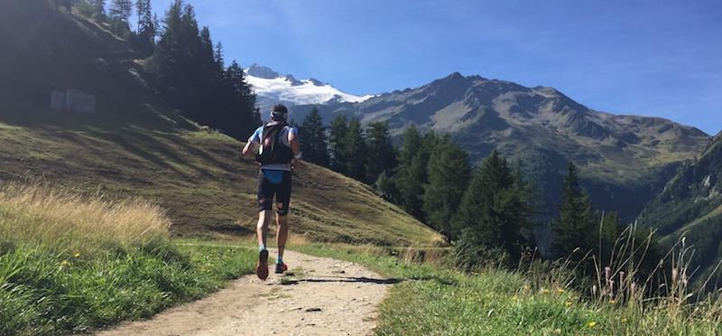 UTMB - passage par le Col de La Forclaz