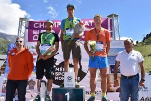 podium hommes France de KV 2017
