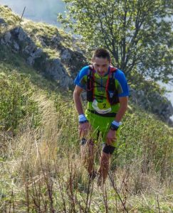 A.Chartrain, trail d'albertville 2017-photo R.Bellot