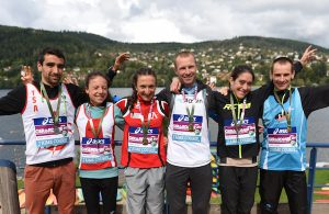 Championnat de France-de Trail Court 2017 - podiums