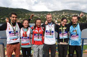 Championnat de France-de Trail Court 2017 - podiums