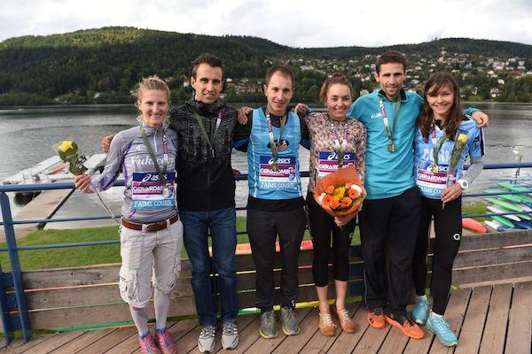 Championnats de France de Trails 2017 - podiums