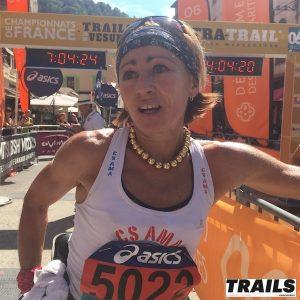 France de Trail 2017 - Sandra Martin