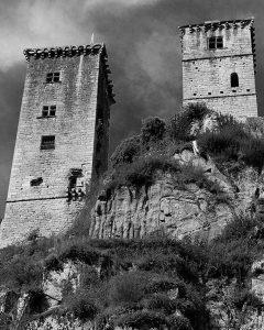 X Trail Corrèze Dordogne 2017 - chateau