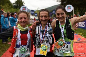 hampionnats de France de Trails 2017 - podium femmes