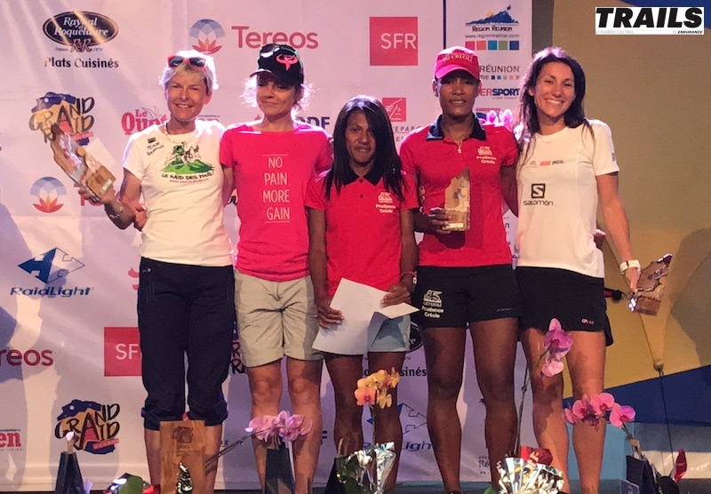 Grand Raid Réunion 2017 - podium dames