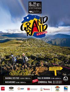 affiche grand raid Reunion 2017