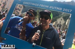 Ludovic Collet et Christopher Hardy - UTMB 2017