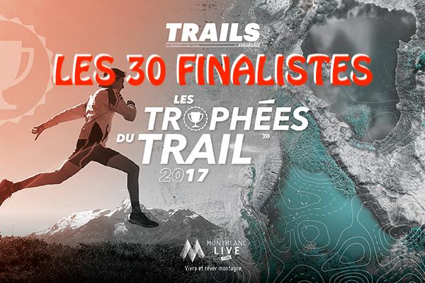 LES TROPHÉES DU TRAIL 2017 - finalistes