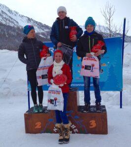 Podium Trail Blanc de la clarée 2018 20km-femmes