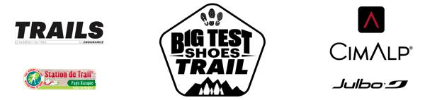 Bandeau logos - Big Test Shoes Trail 2018