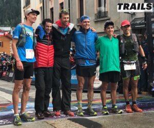 podium hommes UTMB 2018