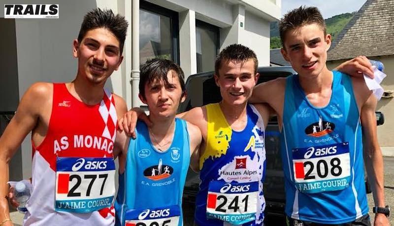Championnat de France de course en montagne 2019 - podium espoirs hommes.jpg