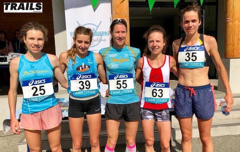 Championnat de France de course en montagne 2019 - podium femmes