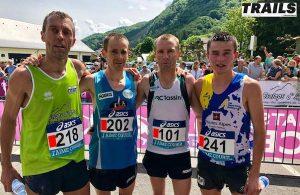 Championnat de France de course en montagne 2019 - podium hommes