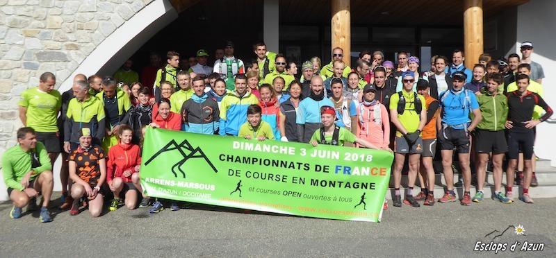Championnats de France de course en montagne 2018