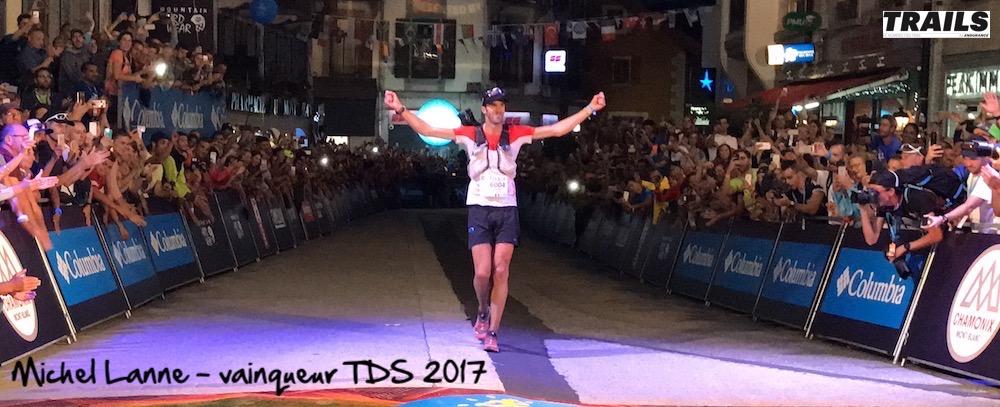 Michel Lanne - Team Salomon - vainqueur TDS 2017