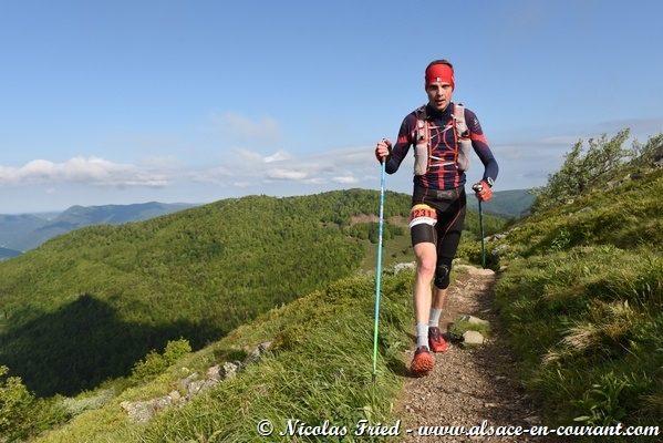 Sébastien Reichenbach remporte le 1er Ultra Trail des Marcaires