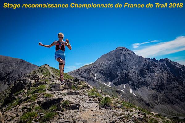 Stage reco Championnats de France de Trail 2018