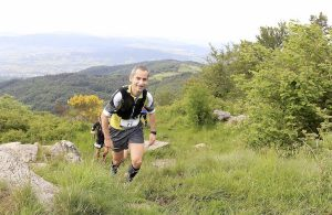 Alexandre Delore - Trail du Pilat - passage près de la Chapelle Saint- Sabin