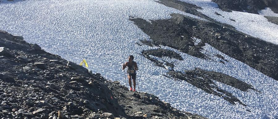 6000 D - passage sur le glacier - Fred Bousseau
