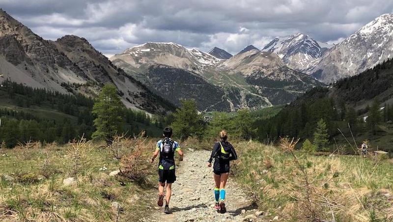 Championnats de France de Trail 2018 - départ des 2 parcours