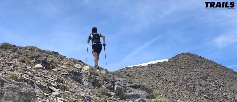 Championnats de France de Trail 2018 - montée tête des fournéous