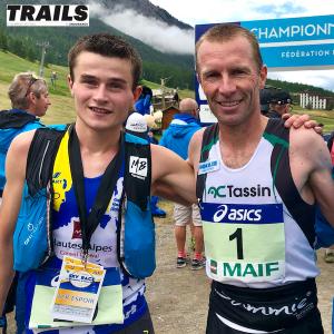 Championnats de France de Trail court 2018 - Alexandre Fine - M. Meyssat