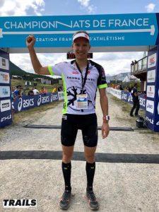 Championnats de France de Trail long 2018 - Aurélien Dunand Pallaz