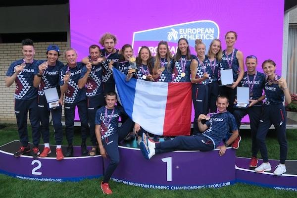 Europe de montagne 2018 la France rentre avec 5 medailles