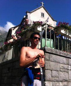 Kilian Jornet Record de l'ascension à pied du Mont-Blanc, en réalisant l'aller-retour en 4h57'34