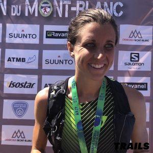 Ruth Croft - Marathon du Mont-Blanc 2018