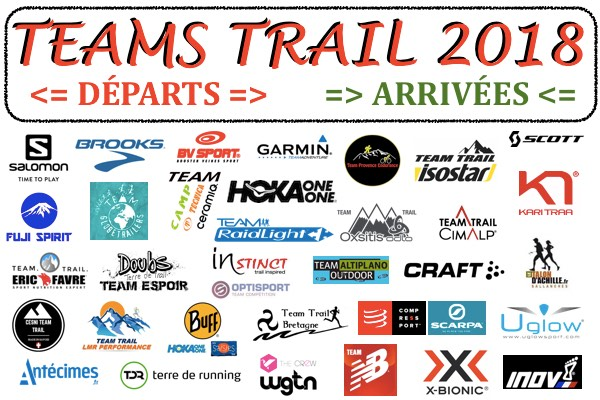 Team Trail 2018 en France