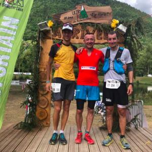 Ultra Tour du Beufortain - Podium hommes 2018