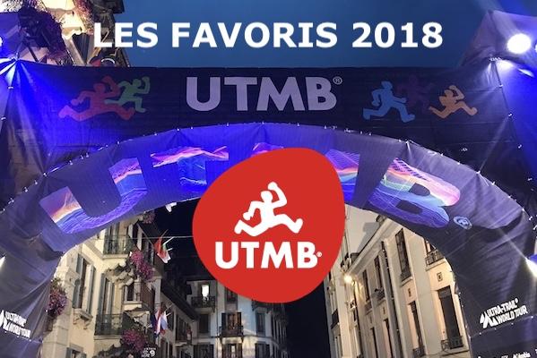 Les Favoris UTMB 2018